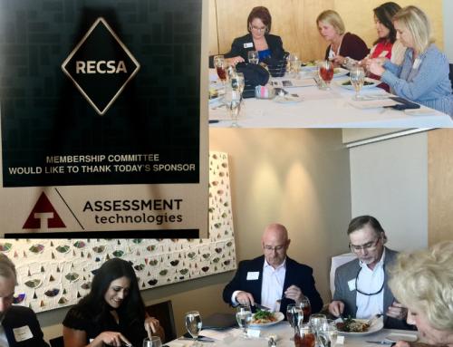 Assessment Technologies Sponsors RECSA Member Luncheon